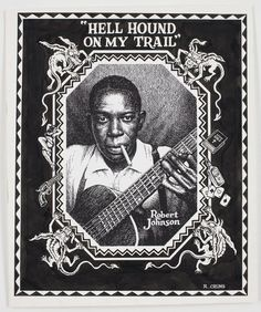 R. Crumb, Robert Johnson, Hell hound On My Trail, s.d., c. 1996.  (thanks to Gerard!)