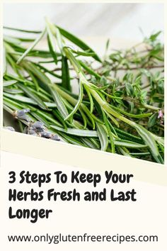 To get the full benefits of fresh herbs and avoid harmful bacteria, it is essential that they are fresh and washed correctly. #health #herbs #culinary #bacteria