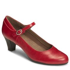 7cefb6a236e A2 by Aerosoles Women s For Shore Mary Jane Pump Shoes (Red) - 11.0 M
