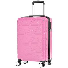 Rolling luggage case with durable scratch-resistant exterior Great for air travel, road trips, or business Spacious, fully-lined interior with multiple zipper pockets Hand Luggage Suitcase, Best Travel Luggage, Cabin Luggage, Luggage Case, Spinner Suitcase, Carry On Suitcase, Luggage Store, Carry On Luggage, Luggage Sets