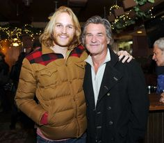 Wyatt Russell is the son of actress Goldie Hawn and actor Kurt Russell. He is currently a TV actor, starring in shows like Arrested Development and Law and Order. Before that he had a brief career in professional hockey. Goldie Hawn Son, Goldie Hawn Kurt Russell, Vintage Movie Stars, Vintage Movies, Tv Actors, Actors & Actresses, Kate Hudson, Bill Hudson, Oliver Hudson
