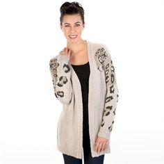 5945a9f70f Love By Design Juniors Leopard Cardigan