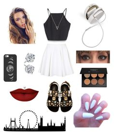"""a walk in london's street"" by brookbrooks ❤ liked on Polyvore featuring beauty, Topshop, Zara, Dolce&Gabbana, Casetify, Adina Reyter and Anastasia Beverly Hills"