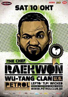 Raekwon hip hop poster