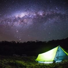 A night amidst the stars on Noosa North Shore...