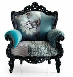 Awesomely cool chair. I want to sit in it and let my feet dangle!