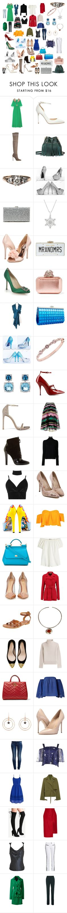 """""""Nice"""" by mikahelaine ❤ liked on Polyvore featuring Gucci, Jimmy Choo, Pour La Victoire, Sole Society, Badgley Mischka, Kate Spade, Manolo Blahnik, INC International Concepts, Givenchy and David Yurman"""