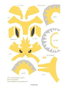 Inviting Tutorials Pokemon Papercraft Printouts 2019 - kb big picBack To 57 Pokemon Papercraft PrintoutsIncredible Guides Pokemon Papercraft Printouts 2019 - large Papercraft Pokemon, Pokemon Craft, Pokemon Eevee, Pikachu, Pokemon Birthday, Pokemon Party, Paper Crafts Origami, Origami Art, Pokemon Printables