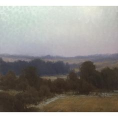 Josh Clare #mormonpioneertrailshow2016 #oilpainting #oilonboard #art #landscape