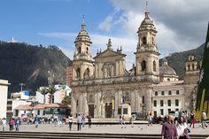 Bogotá atrações passeios Plaza Bolívar