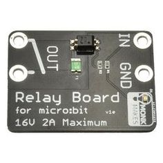 Relay for micro:bit Computer Board, Bbc, Maker, Education, How To Make, Products, Names, Programming, Teaching