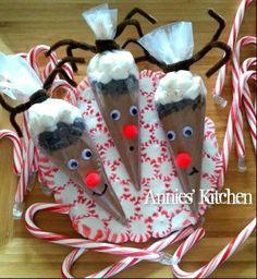 Craft idea for cocoe Reindeers