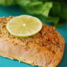 Spicy Garlic Salmon Allrecipes.com