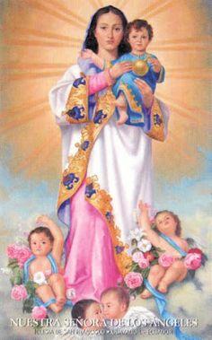 Nuestra Señora de los Angeles, dos de agosto..