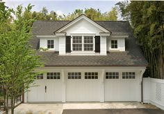 traditional garage and shed by Lasley Brahaney Architecture + Construction