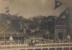 Going Over the Great Divide, Dreamland, 1905 Coney Island