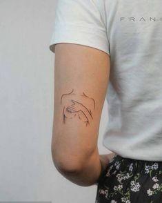 Dainty Tattoos, Dope Tattoos, Pretty Tattoos, Unique Tattoos, Beautiful Tattoos, Small Tattoos, Tatoos, Girly Tattoos, Line Art Tattoos