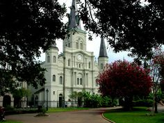Pictures of New Orleans Louisiana   ... : Cathedral of St Louis, King of France, New Orleans, Louisiana, USA