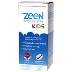 Zeen Kids syrup 120ml 3  insomnia causes