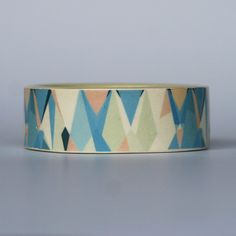Tahitian Jungle Porcelain Bangle