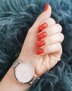 Red love nails ❤ Love Nails, My Nails, Gemstone Rings, Gemstones, Red, Instagram, Jewelry, Jewels, Schmuck