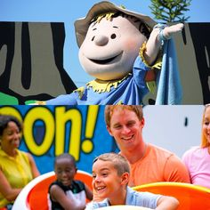 At The Great Pumpkin Fest at Kings Island, would you (and your kids!) rather check out the live shows featuring Charlie Brown, Linus, and the gang or ride some of the rides in Planet Snoopy?? The Great Pumpkin Fest takes place Saturdays & Sundays in October from 12-6 p.m. #WouldYouRatherWednesday