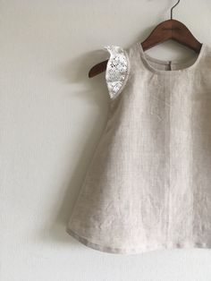 Cute idea for the Oliver + S Butterfly Top