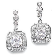 Samantha Bridal Earrings