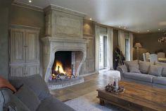 fireplace, Décor de Provence