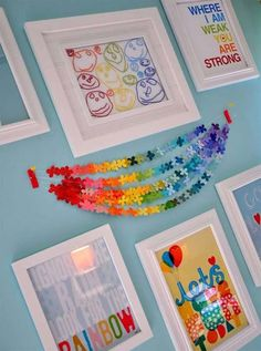 23 Splendid Ways to Add Rainbow Colors in Your Home Decor