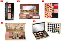 Makeup palettes are dream gifts for the holidays.