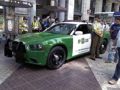 Nuevo Dodge Charger Police Interceptor, Carabineros de Chile