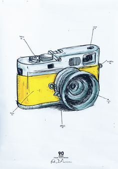 camera crazi, brand identity, sketch garag