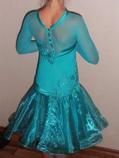 Ювенальский бейсик рейтинговое платье для бальных танцев на 135-145 см