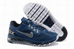 best cheap 7b9e5 19fb5 Now Buy Nike Air Max 2015 Mesh Cloth Men s Sports Shoes - Army Blue Discount  Save Up From Outlet Store at Pumacreeper.