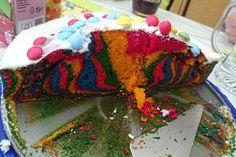 Bunter Limo - Kuchen 'Hexenkuchen'