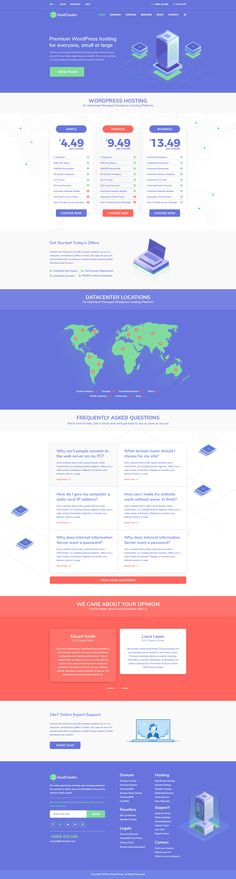 Stop thinking about the laborious process that stays behind the whole hosting or domain acquisition process. HostCluster comes equipped with the WHMCS plugin so that you can digitalize the entire core process of your business. We integrated the WHMCS Bridge plugin in this theme to provide a consistent and unique user experience to any customer that is coming to your website with a server, hosting purpose. Best Wordpress Themes, User Experience, Purpose, Bridge, Core, Author, Website, Business, Unique