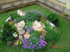 Garden Design, Front Yard Landscaping Design, Vegetable Garden Design, Rock Garden Design, Rock Garden Landscaping, Garden Fountains, Landscaping Plants, Outdoor Garden Decor, Garden Stones