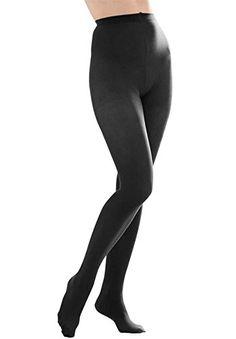Butterfly Hosiery Women's Plus Size Queen Opaque Footed Tights -- Details can be found by clicking on the image.