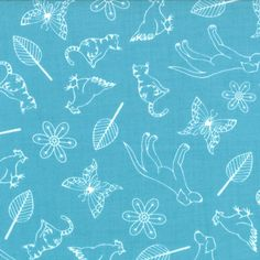 Ginger and Max Aqua ~ Summersville Spring @ Sew Mama Sew Stash Fabrics, Sew Mama Sew, Lining Fabric, Aqua, Doodles, Quilts, Sewing, Unique Jewelry, Handmade Gifts