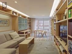 reformas galicia Reforma de piso con terraza en Ourense muebles mecano muebles giratorios muebles de diseño muebles a medida estilo nórdico diseño interiores decoración interiores