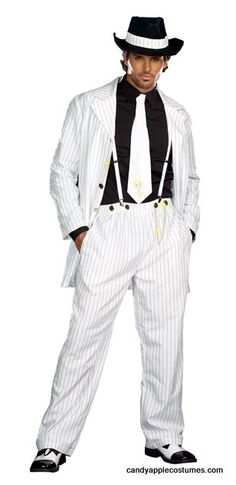 Adult Zoot Suit Riot Costume - Gangster Costumes - Candy Apple Costumes - Browse All Plus Size Costumes