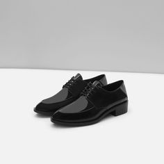 ZARA - COLLECTION AW15 - SINGLE COLOR FLAT SHOES