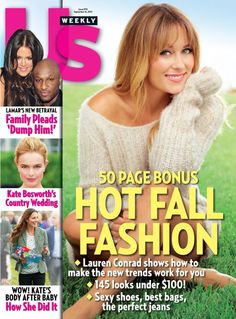 NEWS: Lauren Conrad Covers the @Us Weekly Annual Style Issue in September 2013! - Lauren Conrad - Zimbio