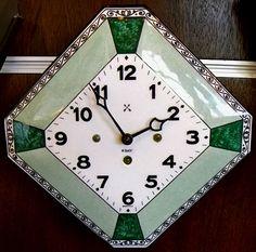 Classic German Art Deco Clock – 1920s