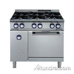 6 burner gas range kitchen