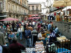 Pescheria- Catania Sicily, I remember walking through these markets to get some fresh fish for lunch... #catania #sicilia #sicily