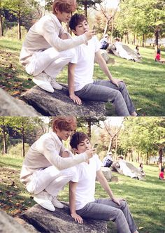 EXO luhan and Xiumin or as I like to call em' Luhannie and Xiumie:)