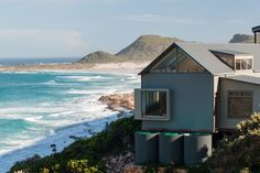 Michele Sandilands Architects Lake Flato, Renting A House, Beach House, Outdoor Structures, Cliff House, Design, Cape Town, South Africa, Architects