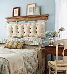 Yatak Başını Yaratıcı Fikirler ve Farklı Tasarımlarla Kendin Yap